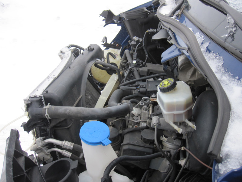 2010 mercedes benz freightline for Mercedes benz sprinter engine