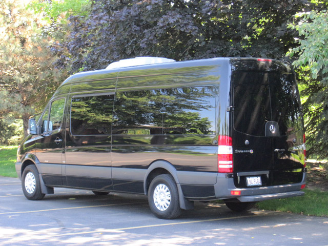9 Passenger Sprinter Van Rental Los Angeles LAX Las Vegas