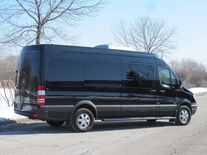 Mercedes Work Van >> 2012 Mercedes-Benz Sprinter 170W