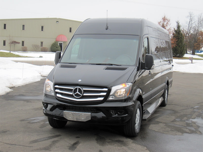 2014 mercedes benz sprinter 14 p for Mercedes benz sprinter 2014
