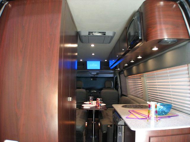10 Passenger Sprinter Weekender Rv Interior