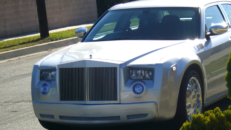 rolls royce phantom replica on chrysler 300