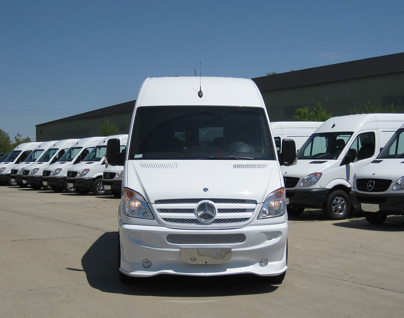 Mercedes-Benz Sprinter SP9, 144WB, 9-Passenger ExecutiveVan.