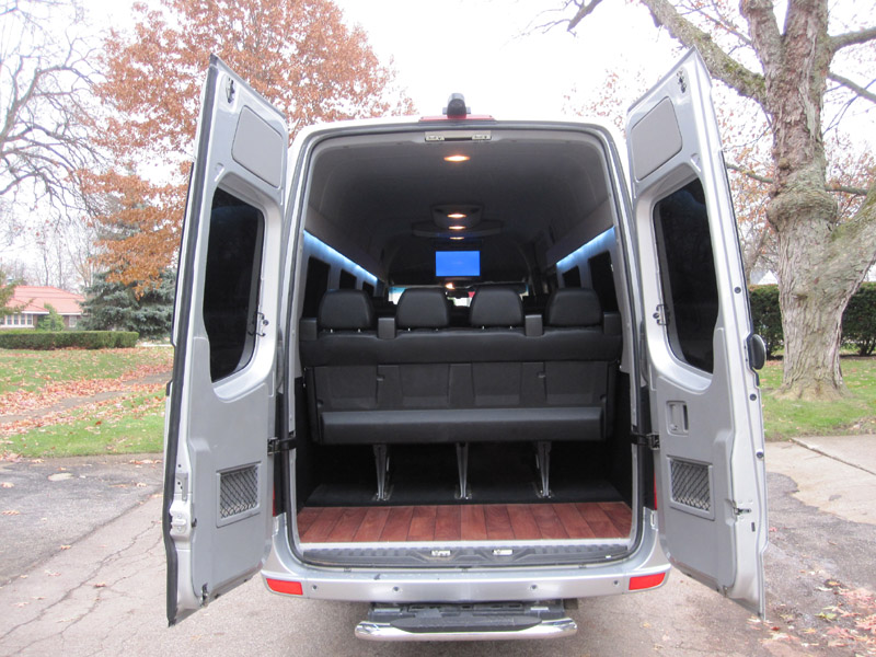 2012 mercedes benz sprinter 3500 for Mercedes benz sprinter 15 passenger
