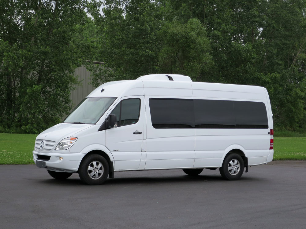 2013 mercedes benz sprinter 15 p for Mercedes benz sprinter 15 passenger