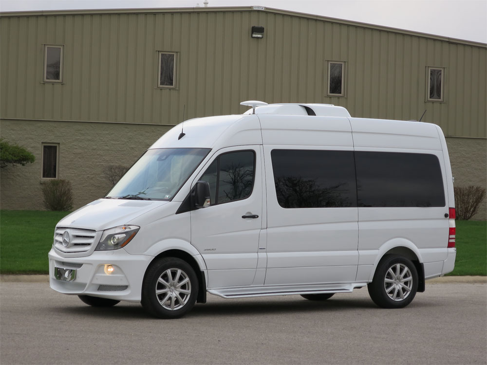 2014 mercedes benz sprinter executive limousine mobile. Black Bedroom Furniture Sets. Home Design Ideas