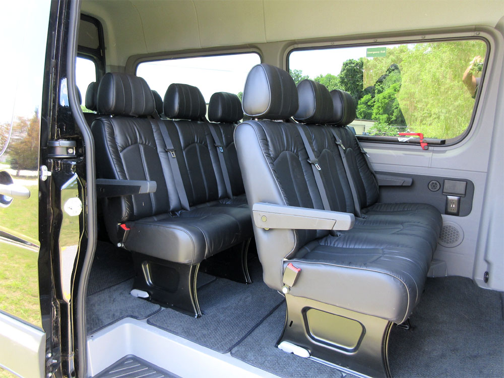 luxury limousine seating for mercedes dodge freighliner sprinter limo seats ebay. Black Bedroom Furniture Sets. Home Design Ideas