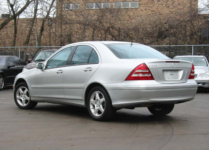 2001 Mercedes Benz C320 Sport