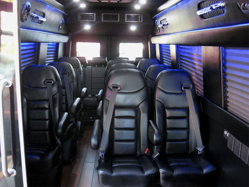 Dodge Sprinter 18 Passenger Limousine 27k Miles Luxury