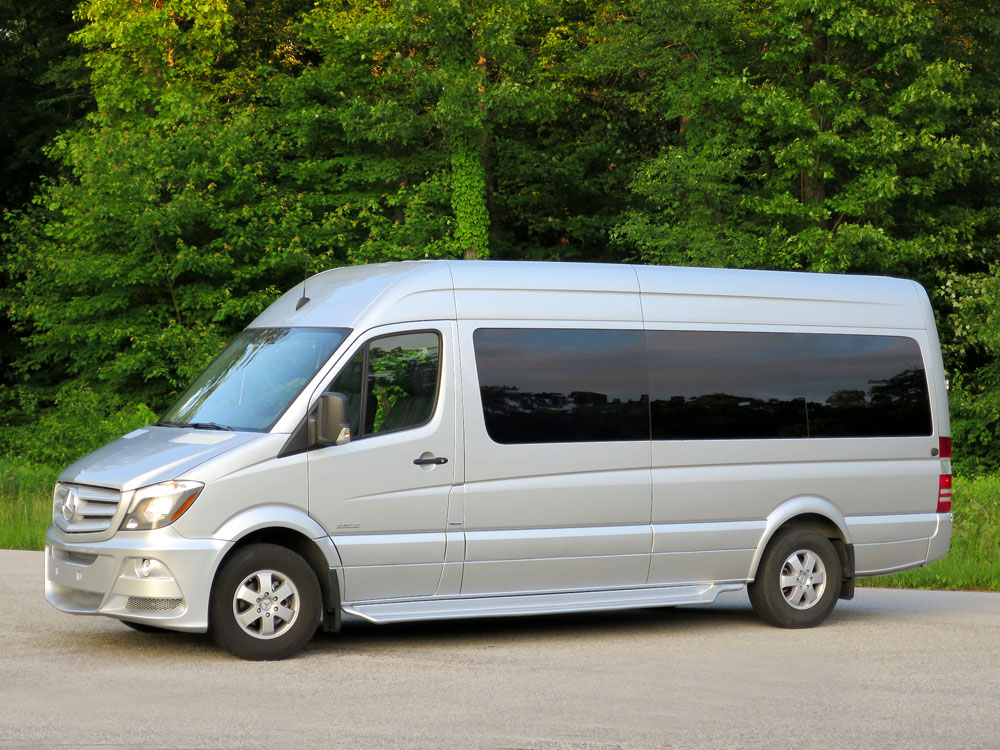 2014 mercedes benz sprinter 15 p for Mercedes benz sprinter 15 passenger