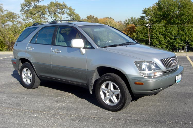 2000 lexus rx300 awd silver on gray leather interior. Black Bedroom Furniture Sets. Home Design Ideas