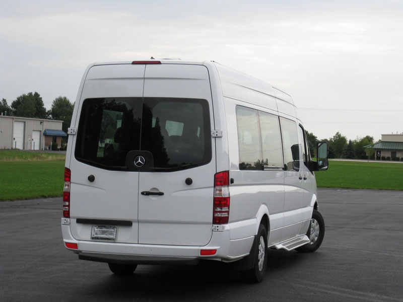 2008 Sprinter 15 Passenger Luxury Shuttle