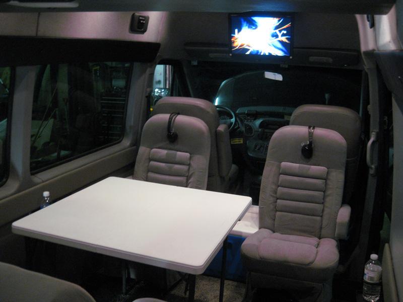 Sprinter RV by Pleasure Way Plateau TS Mercedes Benz Diesel Limousine Dodge Limo