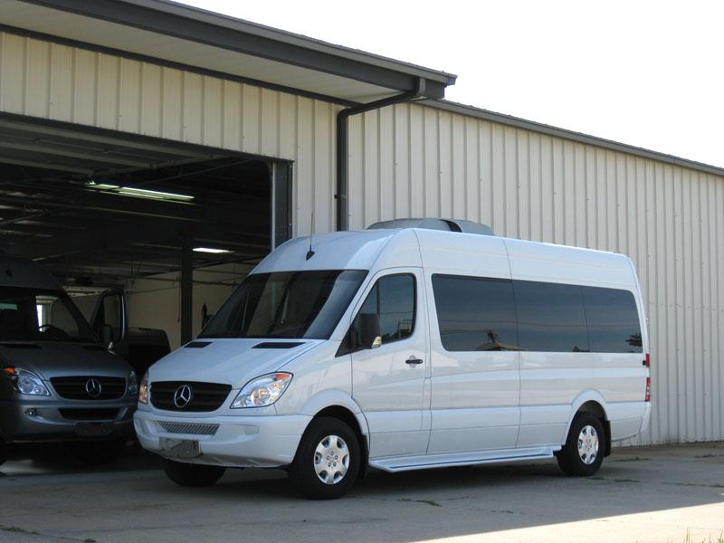 Sprinter Passenger Van Limousine Mercedes Benz 2 7L Diesel Only 91K Miles Dodge